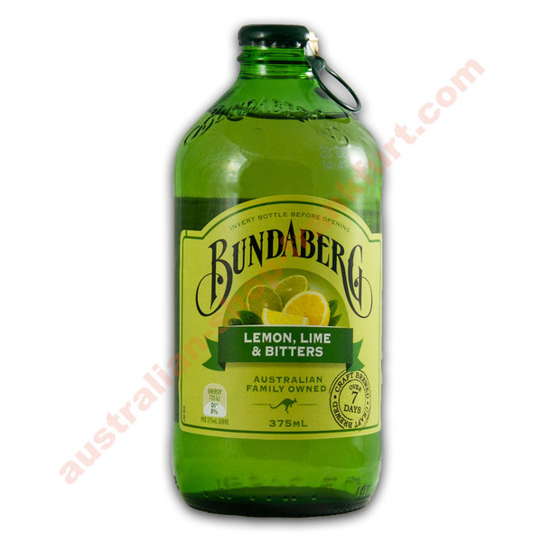 """Bundaberg"" Lemon, Lime & Bitters 375ml - 12er Kiste"