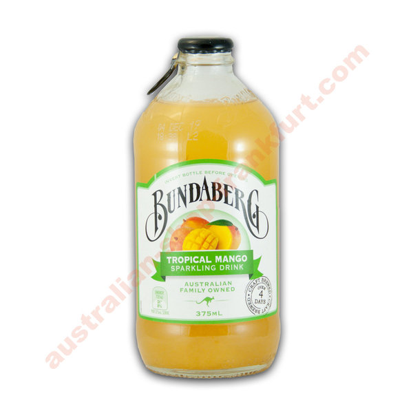 Bundaberg Tropical Mango 375ml 12pack