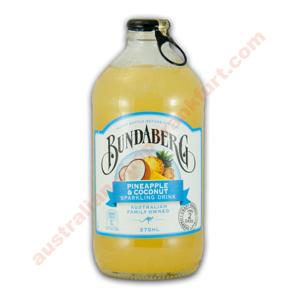 Bundaberg Pineapple Coconut 375ml 12pack