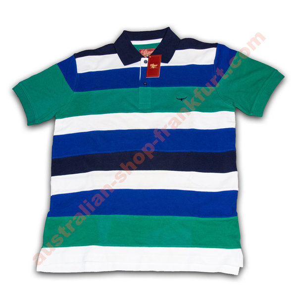 Poloshirt - R.M. Williams- KN968 Smoky Bay