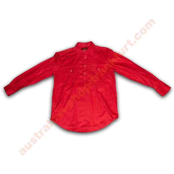 Hemd - R.M. Williams - Brigalow shirt - rot