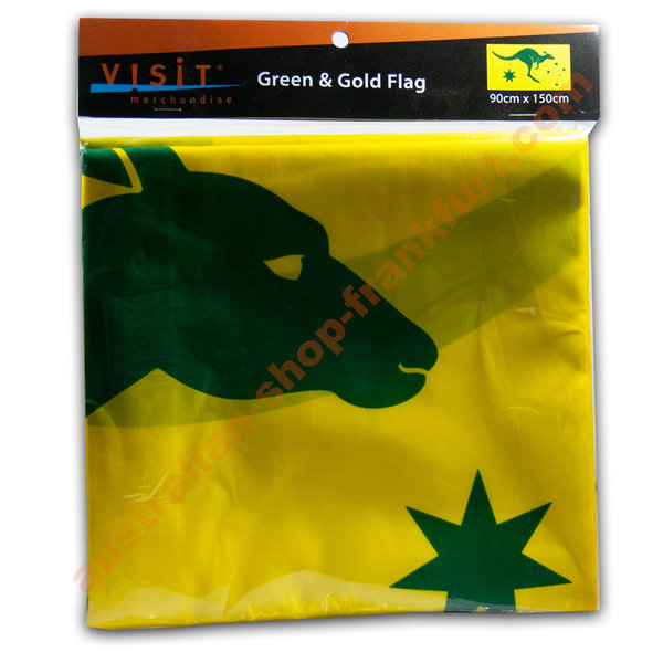 Green & Gold Flag