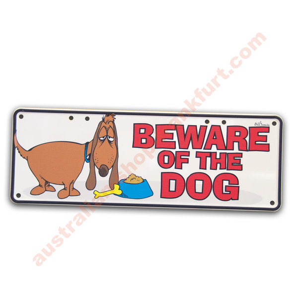 Number Plates - Beware of the Dog