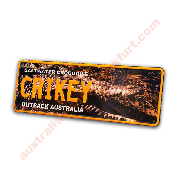 Number Plates - Crikey